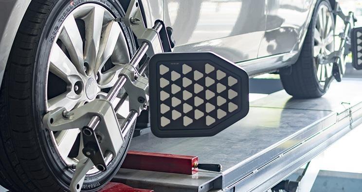 Geometria 3D koła samochodu